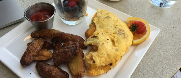 Low country omelet